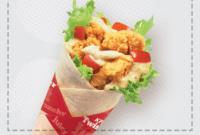 Menu dan Harga Twisty KFC Delivery Paling Update 2018