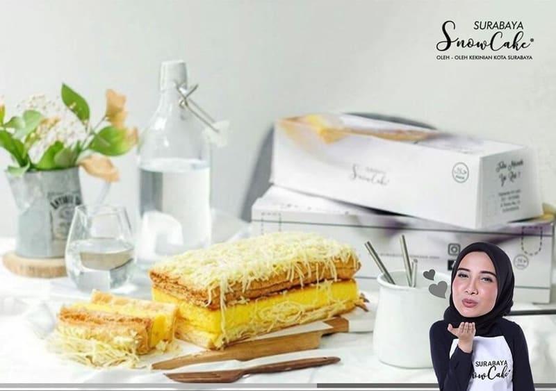 Daftar Harga Snow Cake Surabaya dan Varian Rasa Terbaru