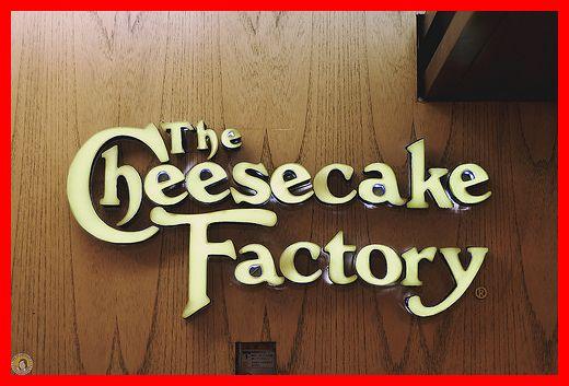 Menu Harga Cheesecake Factory