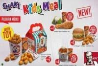 Paket KFC Kids Meal untuk Pesta Ultah Anak Anda