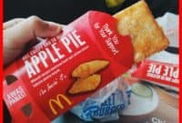 harga apple pie mcd