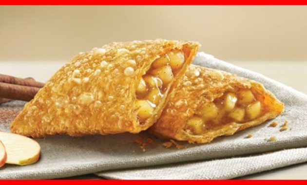 harga menu apple pie mcd