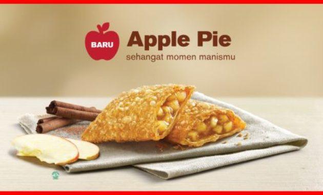 menu baru apple pie mcd
