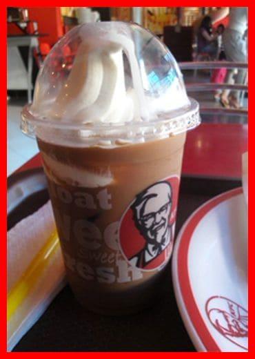 Harga Mocca Float KFC