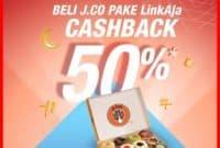 Promo Jco cashback persen linkaja