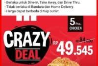promo kfc crazy deal