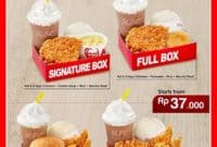 Harga Menu Paket Signature Big Box KFC