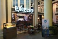 Excelso cafe jam di Surabaya