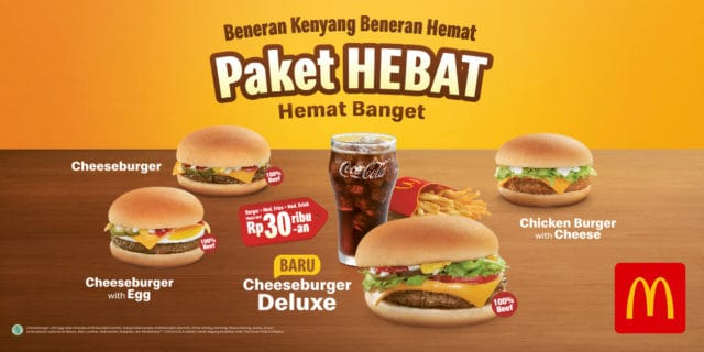 Promo mcd indonesia terbaru Paket Hebat