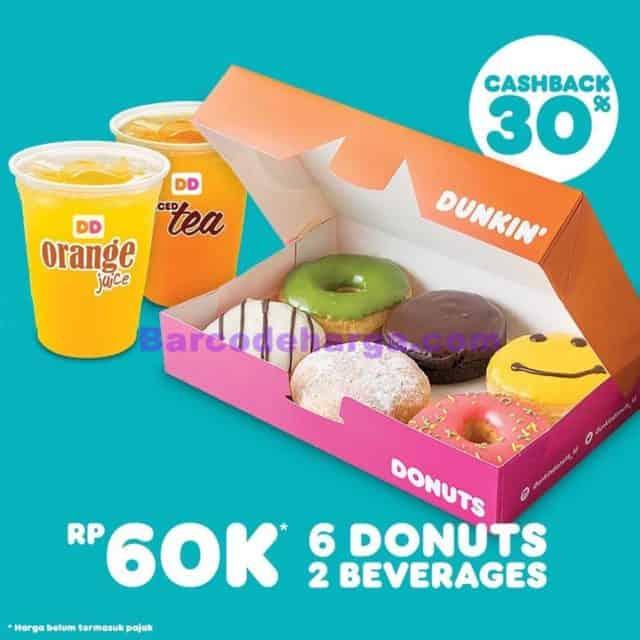 promo dunkin donuts terbaru