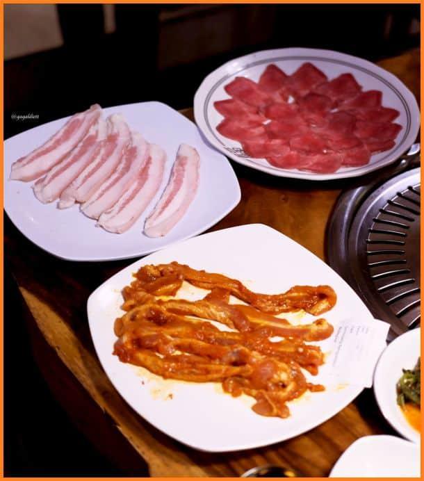 Harga chung gi wa menu lengkap