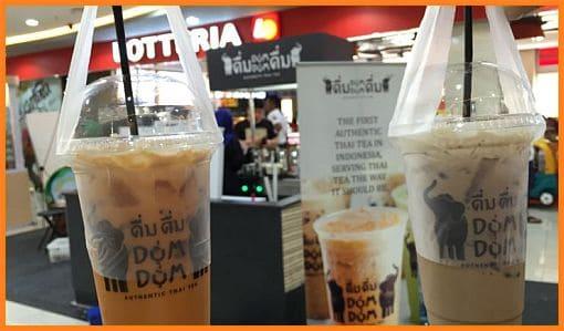 Harga dum dum thai tea Menu Lengkap